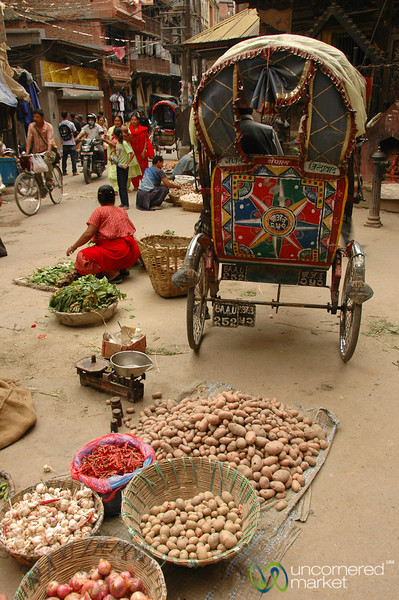 Of Potatoes and Rickshaws - Kathmandu, Nepal