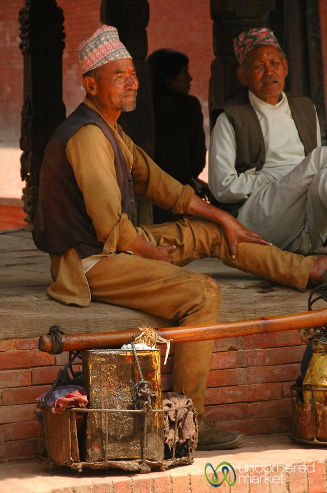 Taking a Rest - Patan, Nepal