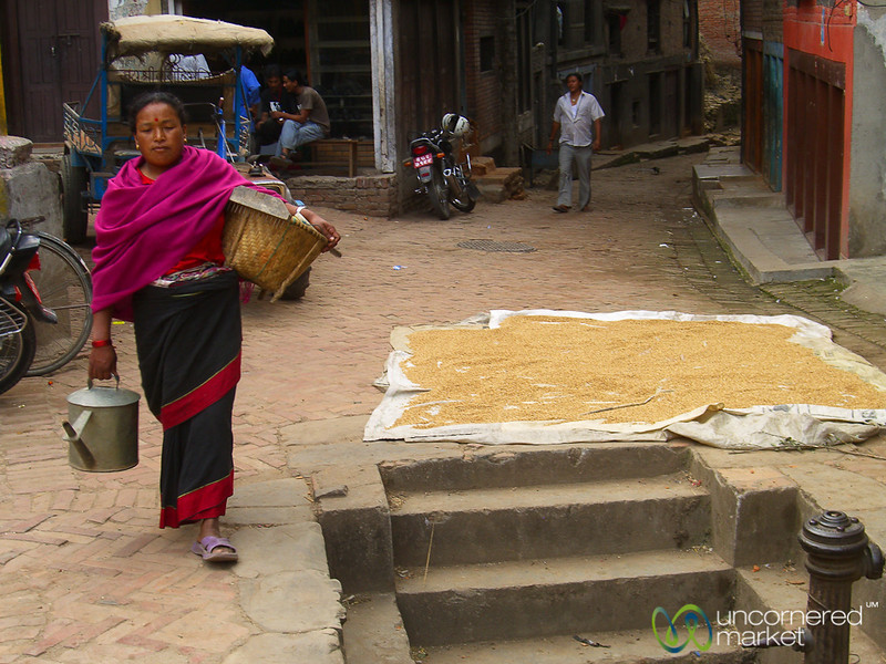 Walking Through Bhaktapur - Nepal
