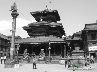 Dattatraya Square in  Bhaktapur, Nepal