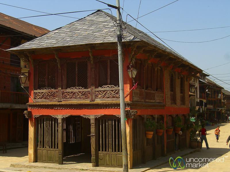 Newari Architecture in Bandipur, Nepal