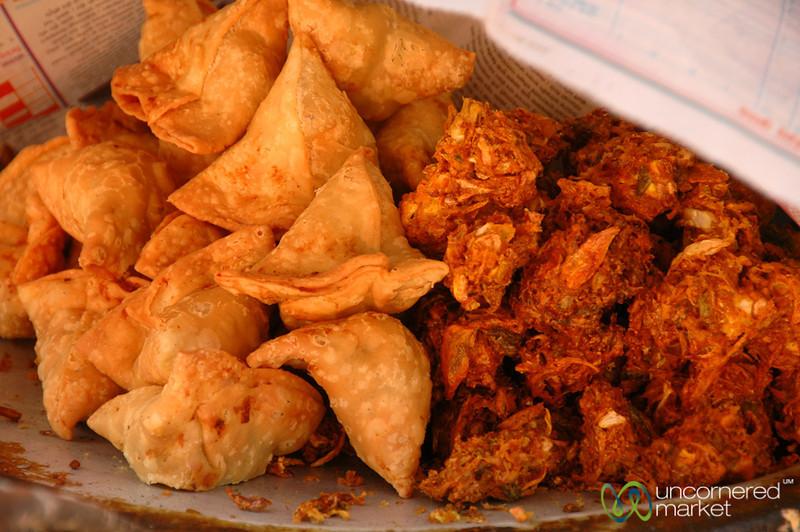 Fried Snacks - Patan, Nepal