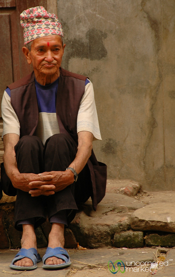 Waiting Patiently - Patan, Nepal