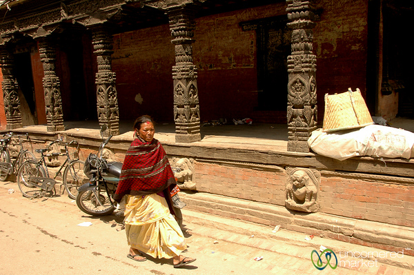 Walking Through Patan - Nepal