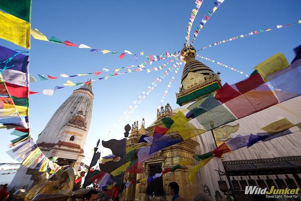 Swayambunath Kathmandu Nepal