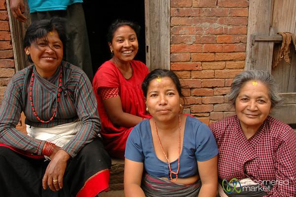 The Women of Bakhtapur, Nepal