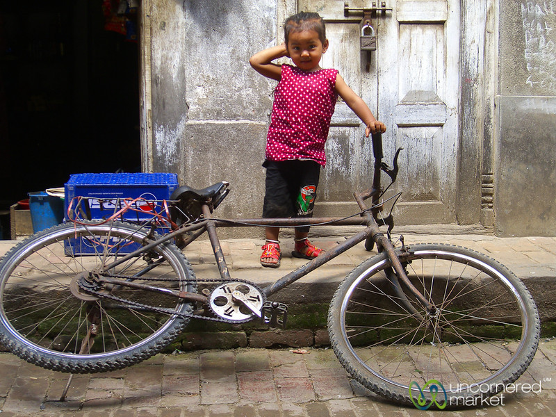 Eager to Ride -  Bhaktapur, Nepal
