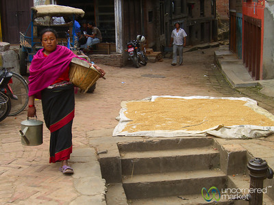 Walking Through Bhaktapur - Nepal