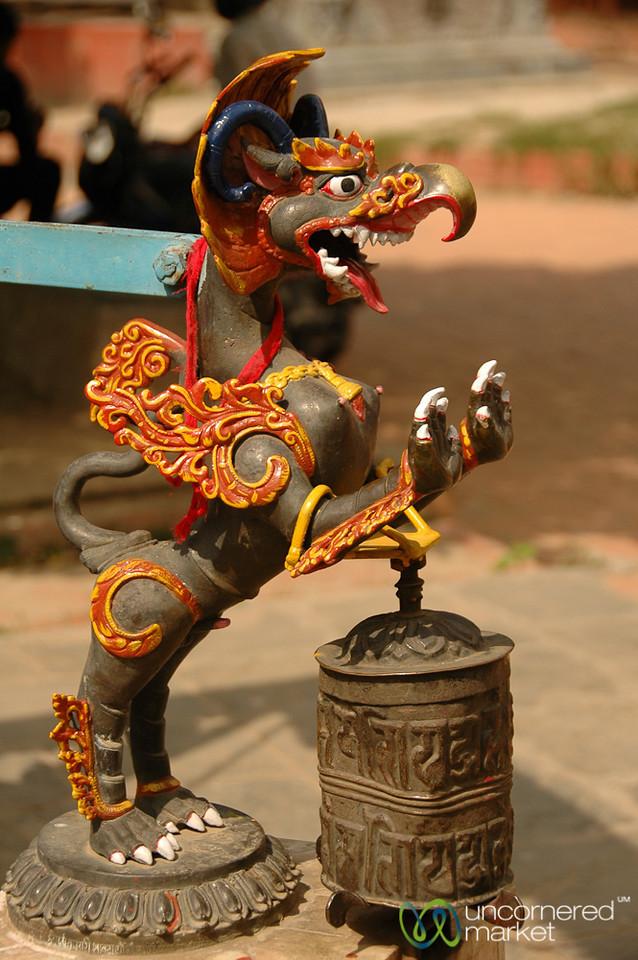 Bell Keeper - Patan, Nepal