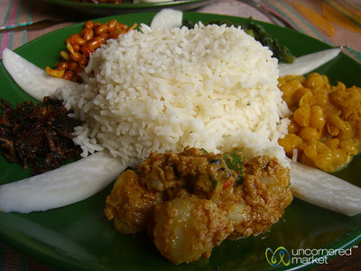 Vegetarian Platter at Newari Kitchen - Pokhara, Nepal