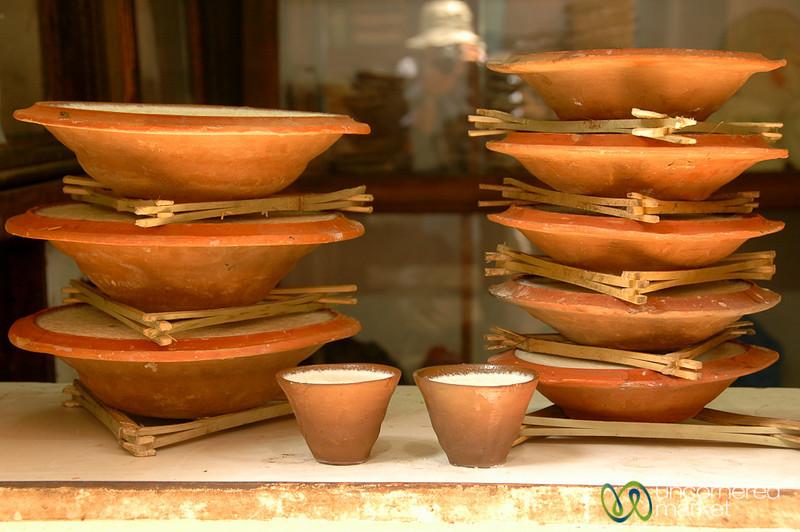 Bakhtapur Yogurt All Stacked Up - Nepal