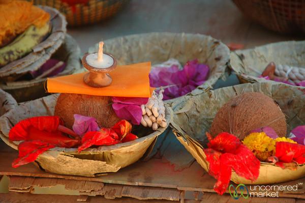 Simple Offerings - Patan, Nepal
