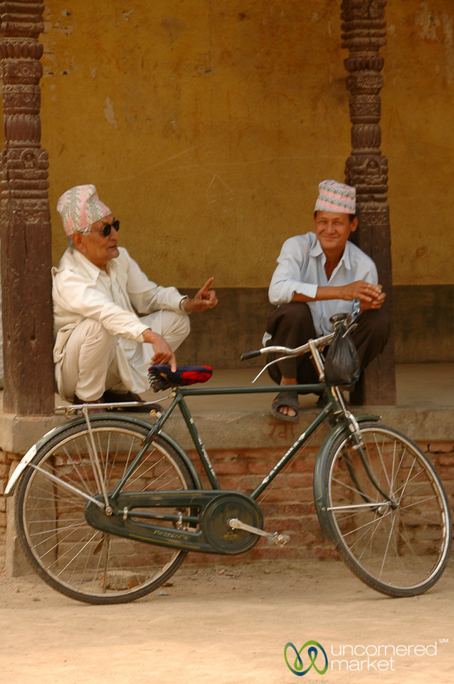 Friendly Afternoon Chat - Patan, Nepal
