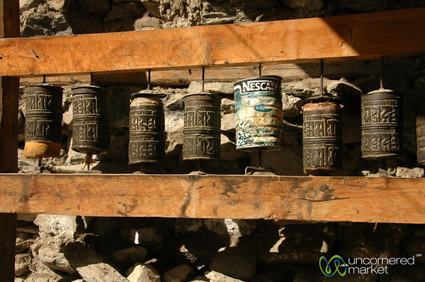 Nescafe as a Substitute for a Prayer Wheel? Annapurna Circuit, Nepal