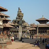 The Durbar Square (central square) in Patan, Nepal is probably the most striking due to the Newari architecture.