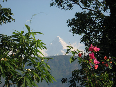 Machhapuchare Mountain