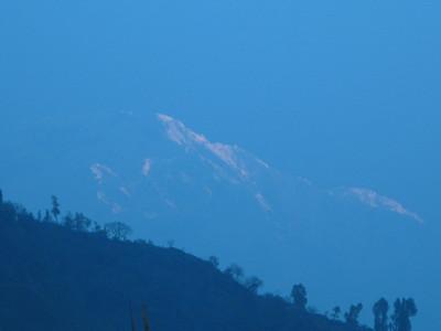 A Brief Mountain Glimpse