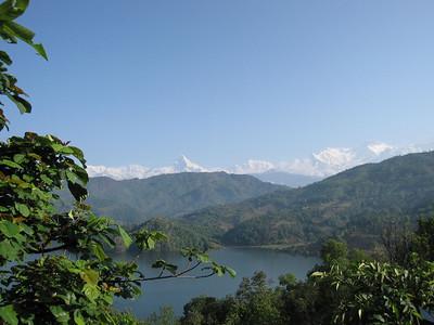 Machapuchare and Bengas Lake