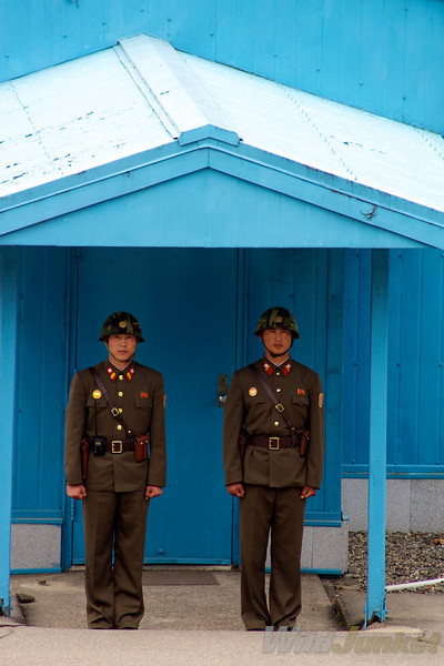 Guards at the DMZ
