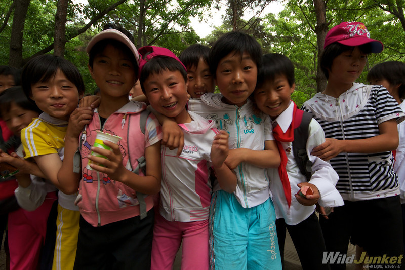 The children of North Korea