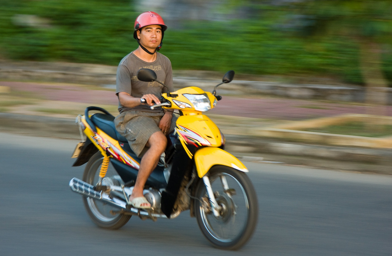 If motorbikes and Vietnam aren't synonymous with each other, then they certainly should be.<br /> <br /> Location: Cat Ba town, Vietnam<br /> <br /> Lens used: 24-105mm f4.0 IS