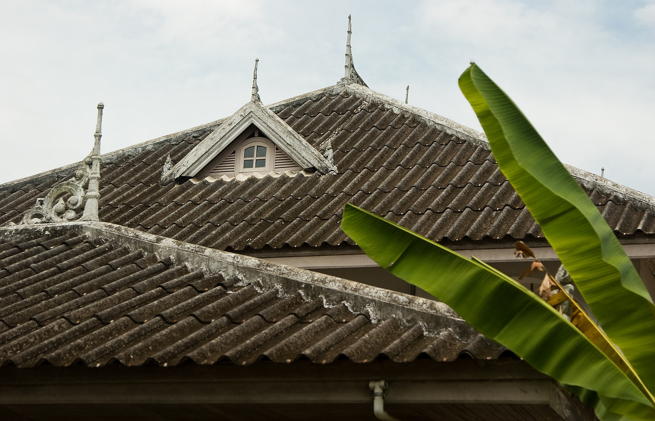 A study of rooflines in the Luang Prabang old town.<br /> <br /> #3 in a series of 8.<br /> <br /> Location: Luang Prabang, Laos<br /> <br /> Lens used: 24-105mm f4.0 IS