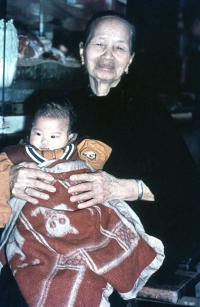 The grandma babysitter
