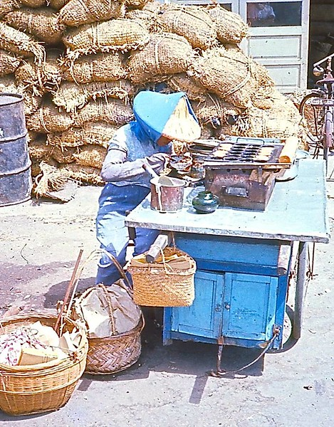 Satay seller