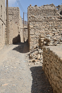An abandoned old town near Nizwa...