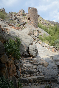 Visiting a wadi near Nizwa...