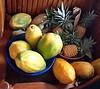 Papaya & pineapple