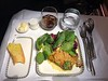 1st inflight meal