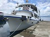 "Liveaboard dive boat ""Chertan"", Alotau, PNG"