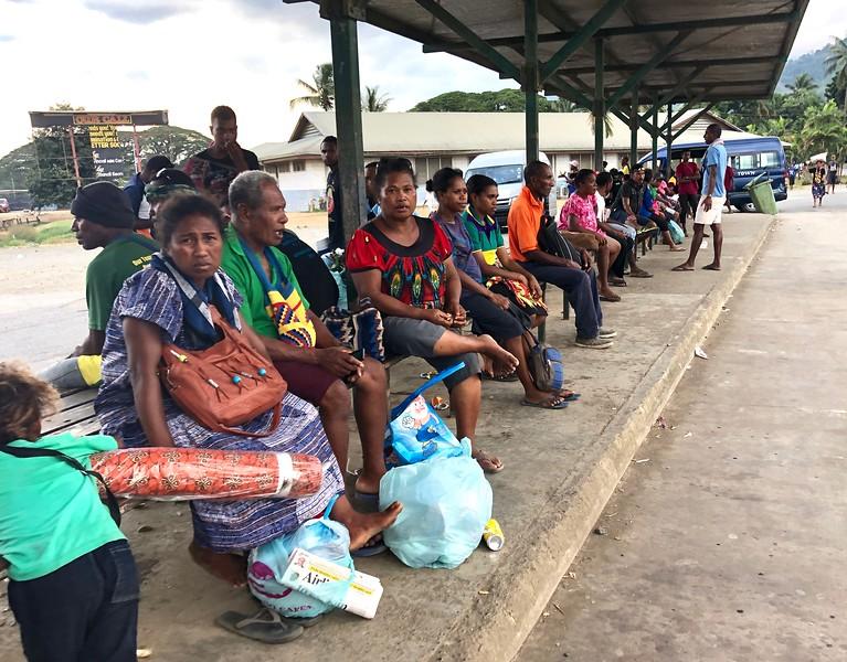 Transportation hub, Alotau, PNG