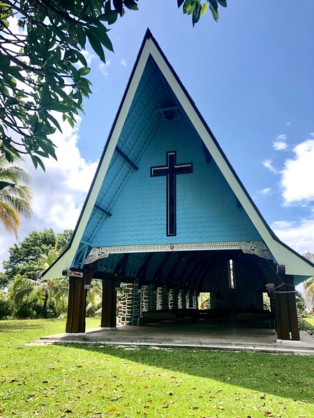 Kwato Village, church