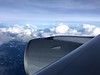 Skies over the Pacific