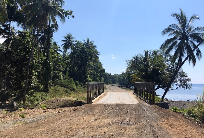 Main road to East Cape, PNG
