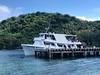 Chertan berthed at Kwato dock, PNG