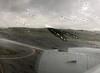 Rainy landing