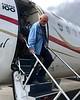 Jim deplaning, Gurney Airport, GUR, Alotau, PNG