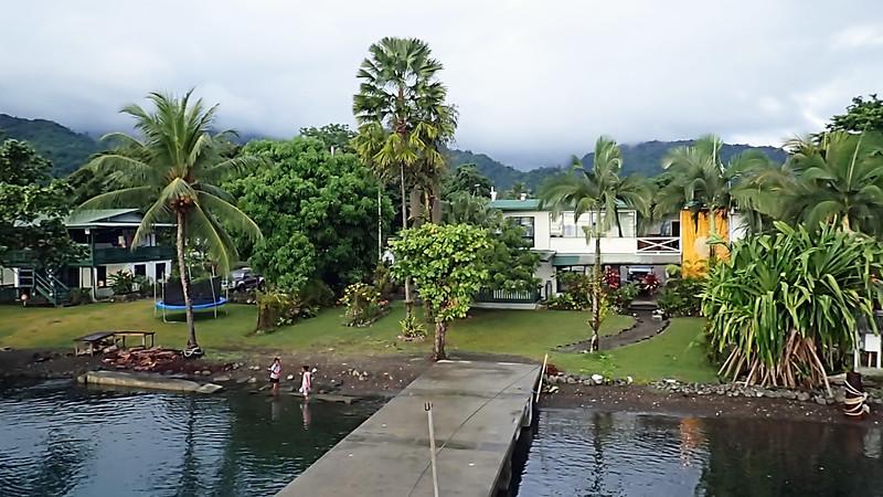 Alotau dock