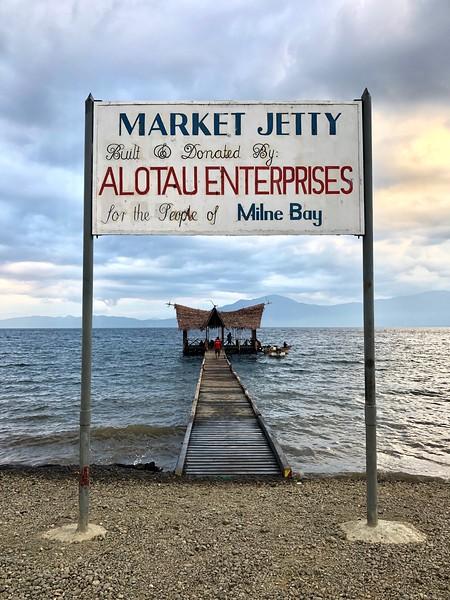 Alotau Jetty, Alotau, PNG