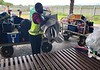 Luggage claim, Gurney Airport, GUR, Alotau, PNG