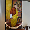 A painting of the prince hangs in the lobby