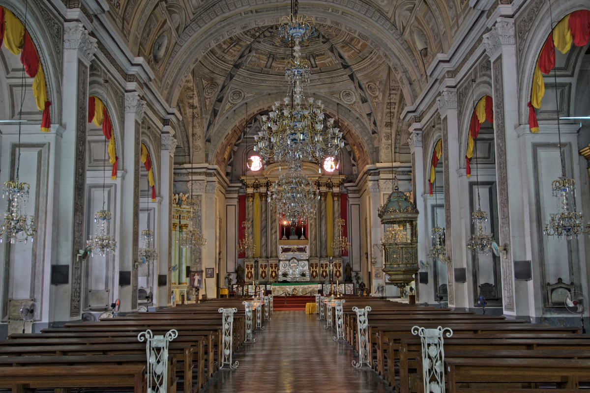 Inside St. Augustine's Church, Manila, Philippines