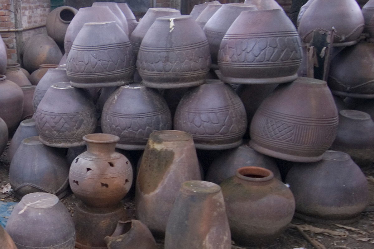 Pottery in Vigan, Philippines