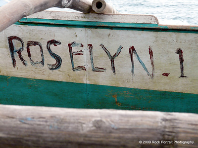 The boats are named just like the bikes and Jeepneys, but with a bit more old-fashioned style.