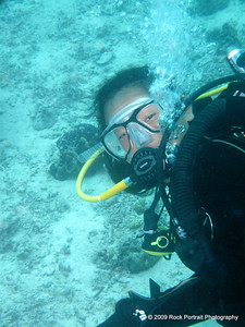 My dive buddy, Joepi.