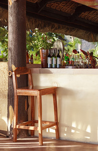 An empty chair at this bar? That can't be right!