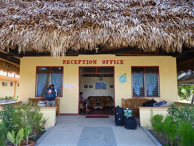 We've arrived at our accomodation for the Donsol Whale Shark Dives.